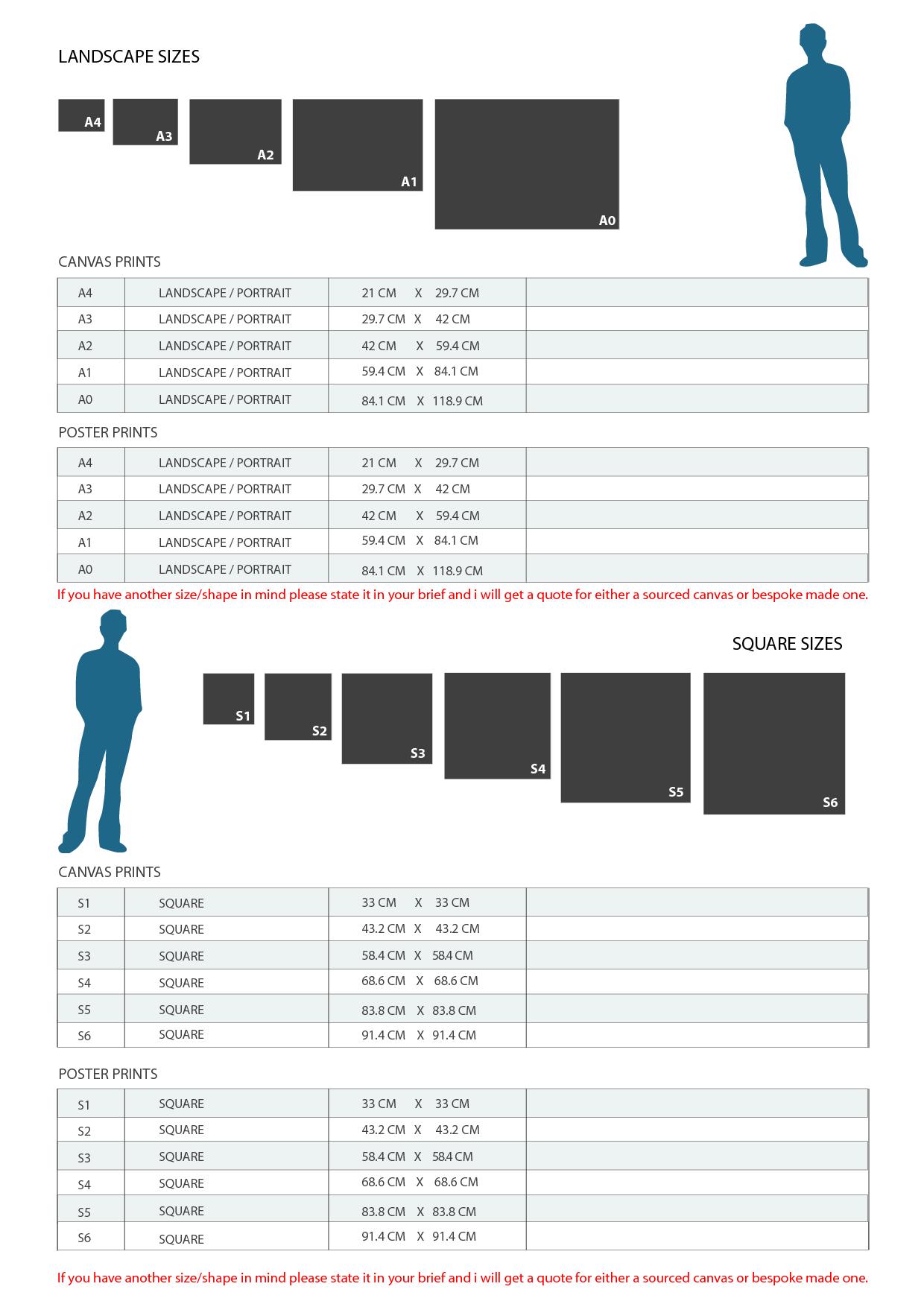 pixelsham canvas sizes reference