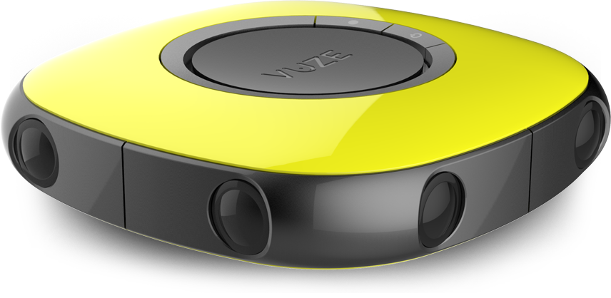 vuze d spherical virtual reality camera