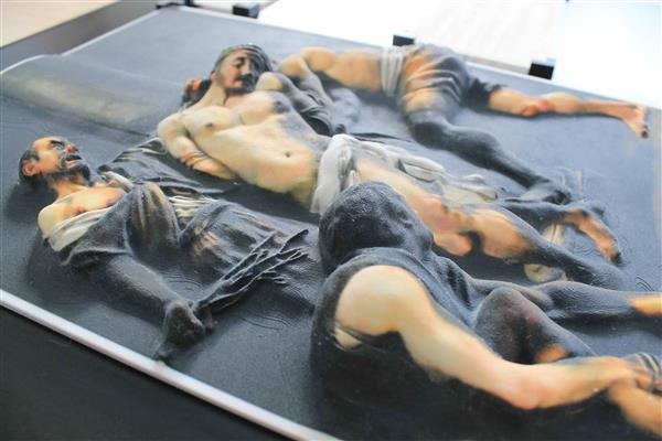 caravaggio-3d-printed-tactile-art-visually-impaired-touch-light-dark