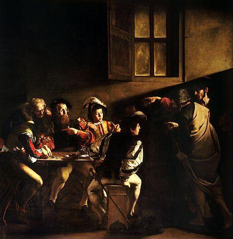 The_Calling_of_Saint_MatthewCaravaggo_15991600-thumb