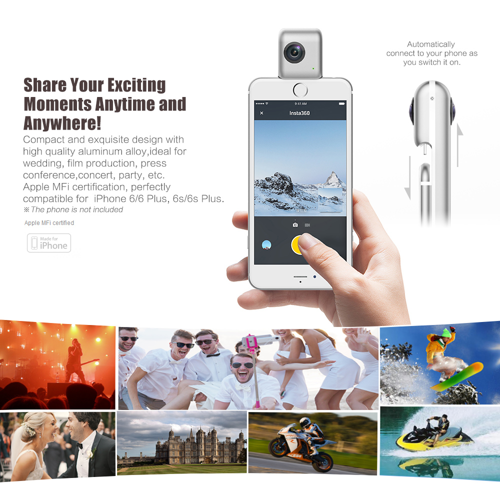 Insta360-Nano-3K-HD-360-Panoramic-Camera-VR-Camera-210-Degree-Dual-Wide-Angle-Fisheye-Lens